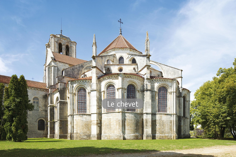 <stamp theme='his-green2'>Doc. 3</stamp> Le chevet de la basilique Sainte-Marie-Madeleine de Vézelay