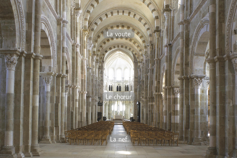 <stamp theme='his-green2'>Doc. 2</stamp> L'intérieur de la basilique Sainte-Marie-Madeleine