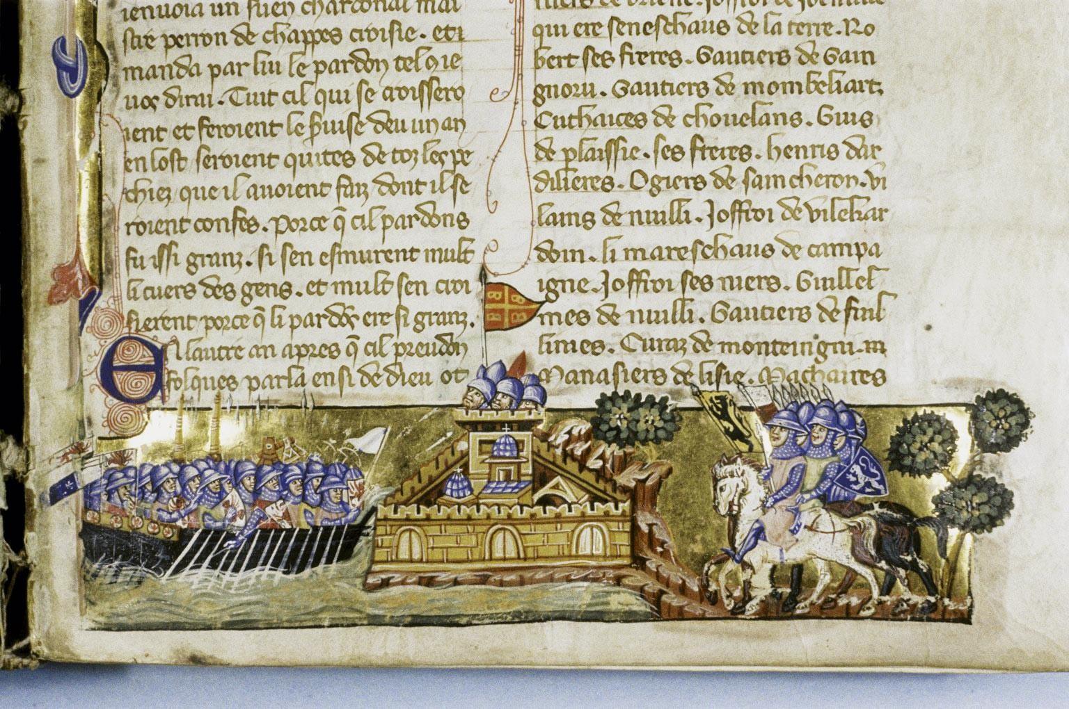 <stamp theme='his-green2'>Doc. 4</stamp> La prise de Constantinople par les croisés (1204)
