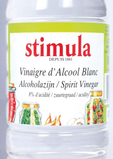 bouteille de vinaigre blanc