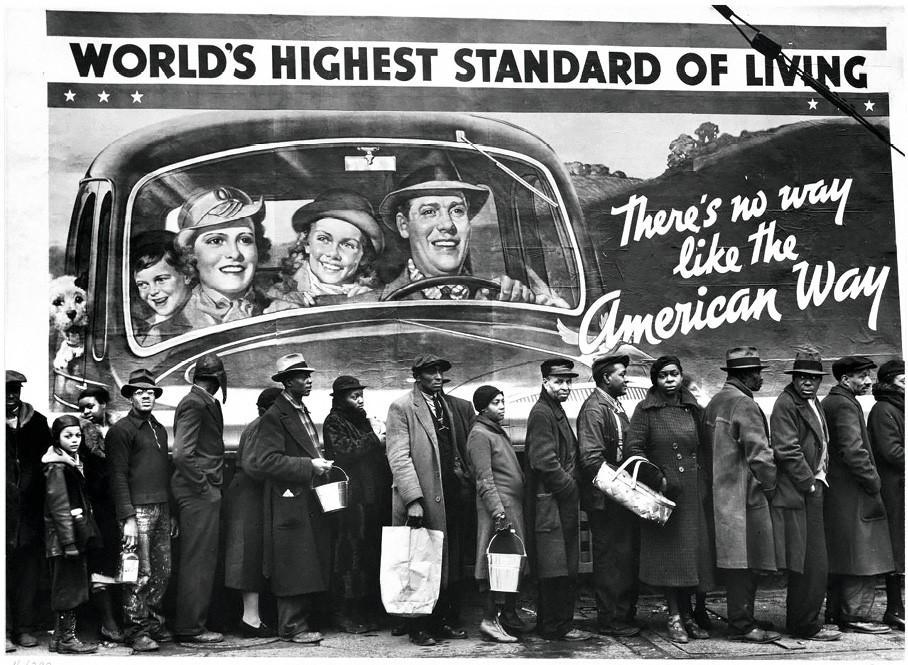 World's Highest Standard of Living, Margaret Bourke-White, 1937