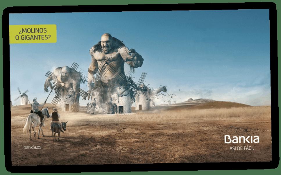 Campaña «De acuerdo» de Bankia, premio anuncio del año a la mejor publicidad gráfica, 2017