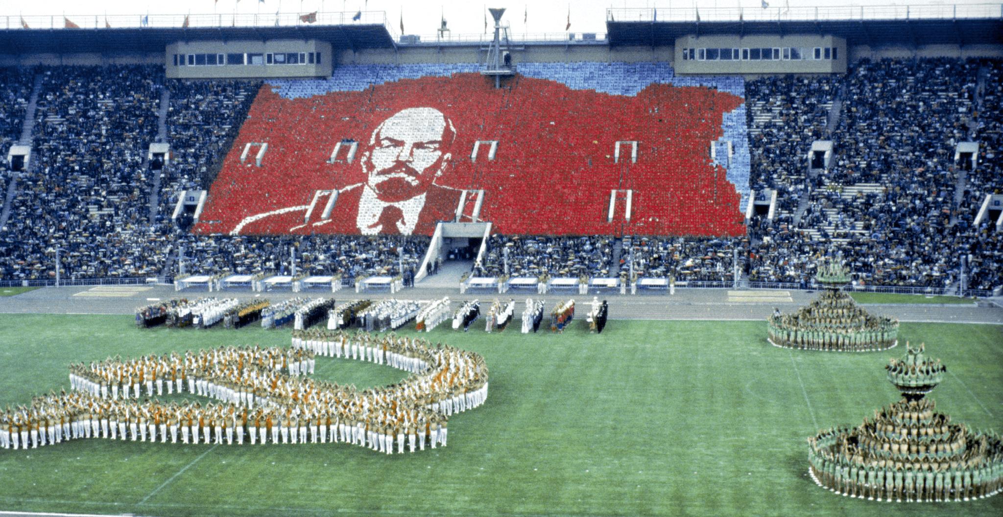Photographie des Jeux olympiques organisés par Moscou, en 1980.
