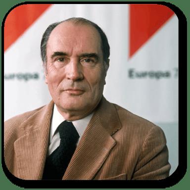 Portrait François Mitterrand
