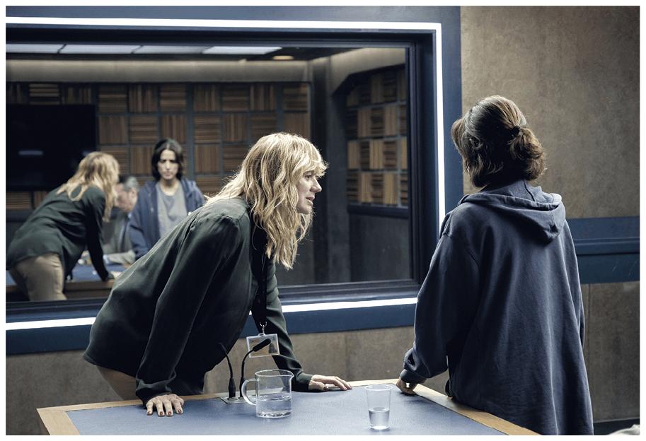 Fotograma de la serie Criminal, 2019