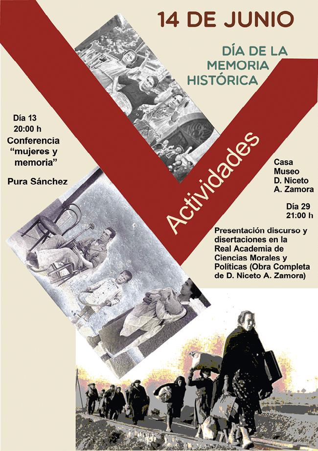Cartel para el Día de la Memoria Histórica, 2018