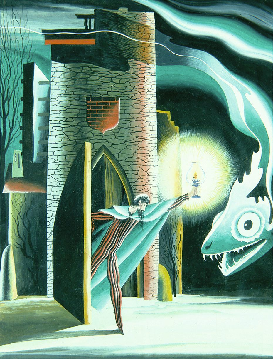 Remedios Varo, Insomnio II, 1947