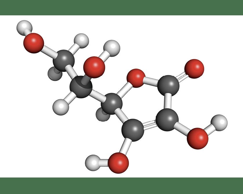 Molécule d'acide ascorbique