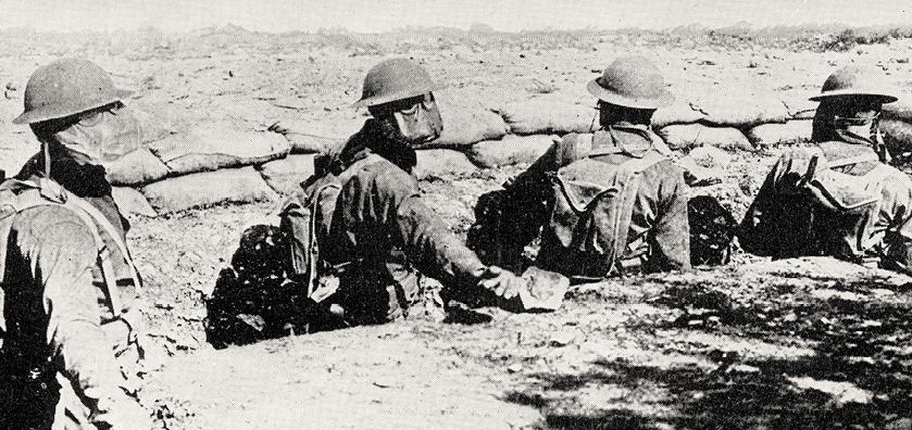 photo de soldats lors de la première guerre mondiale