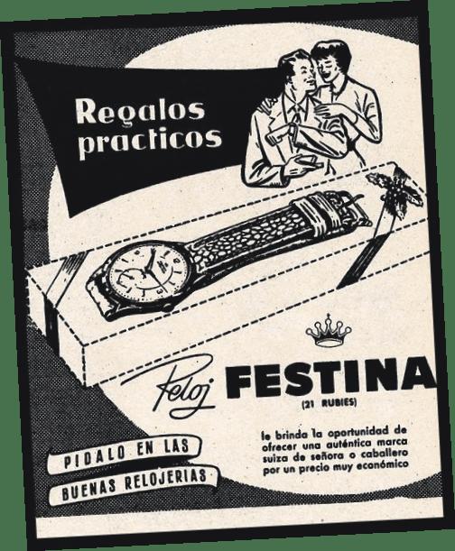 Publicidad de Festina