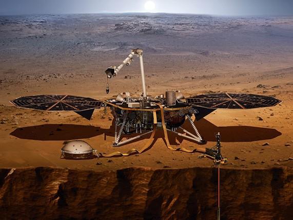The InSight Lander, NASA, 2018.