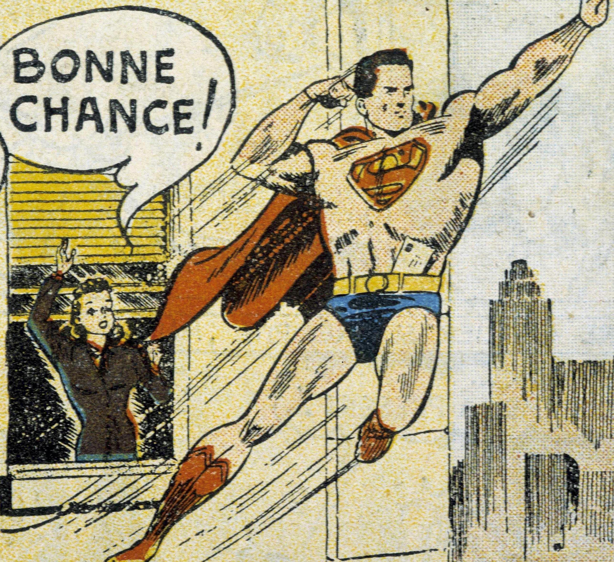Superman part en mission