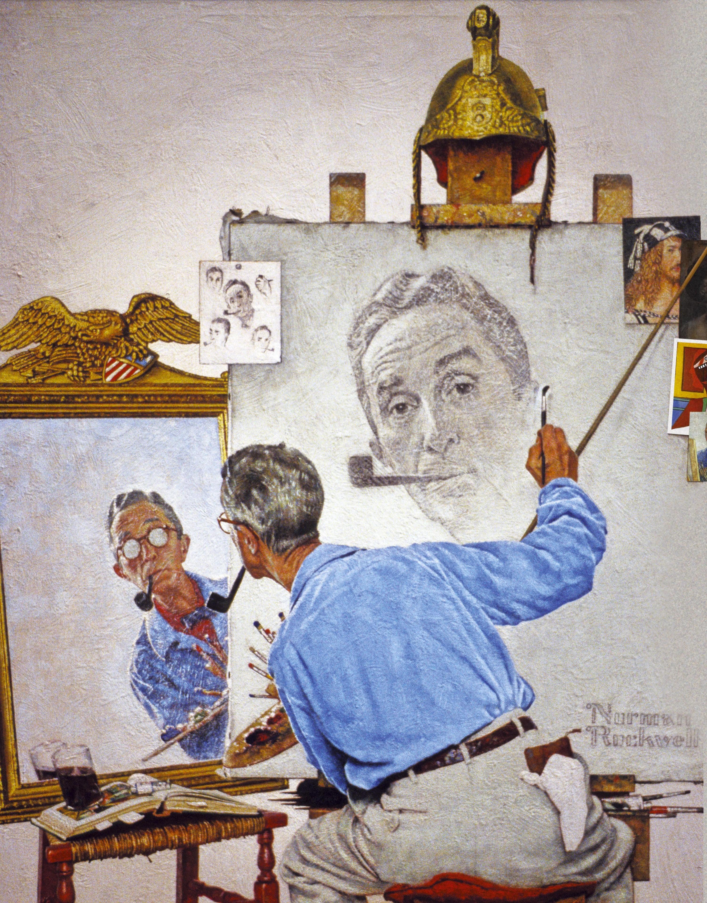 Un autoportrait multiple