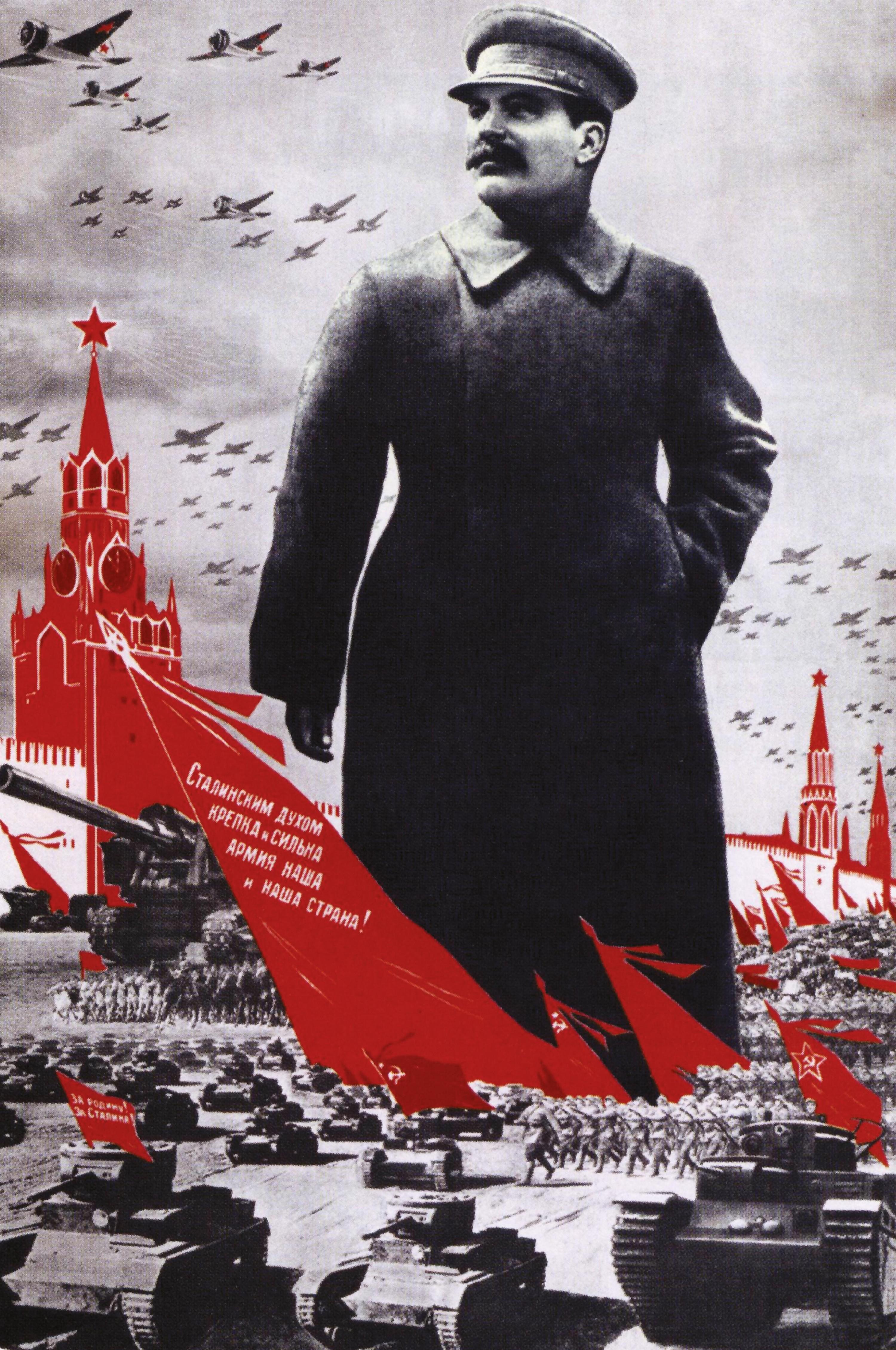 Propagande pour Staline