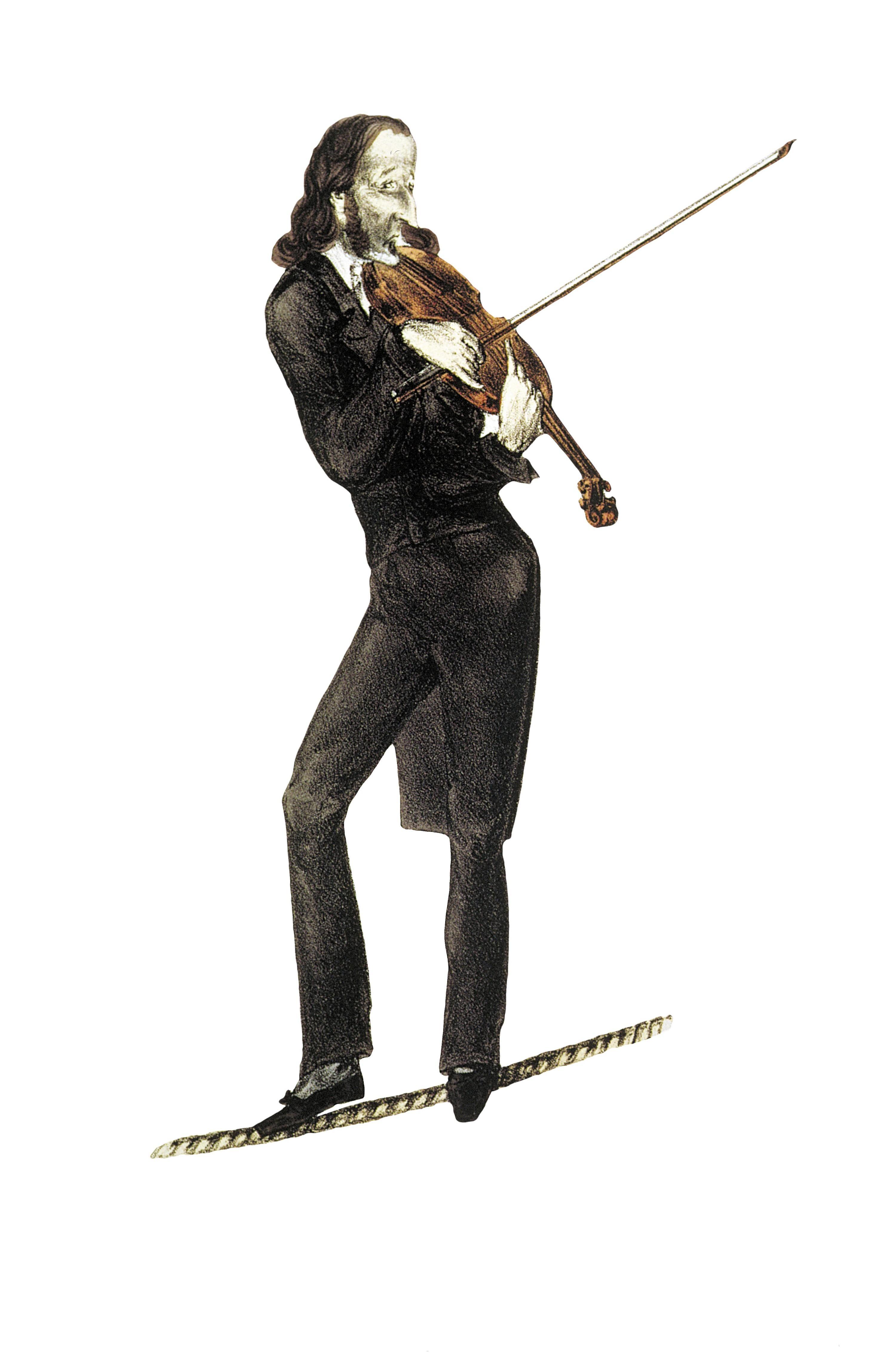 Portrait de Niccolo Paganini