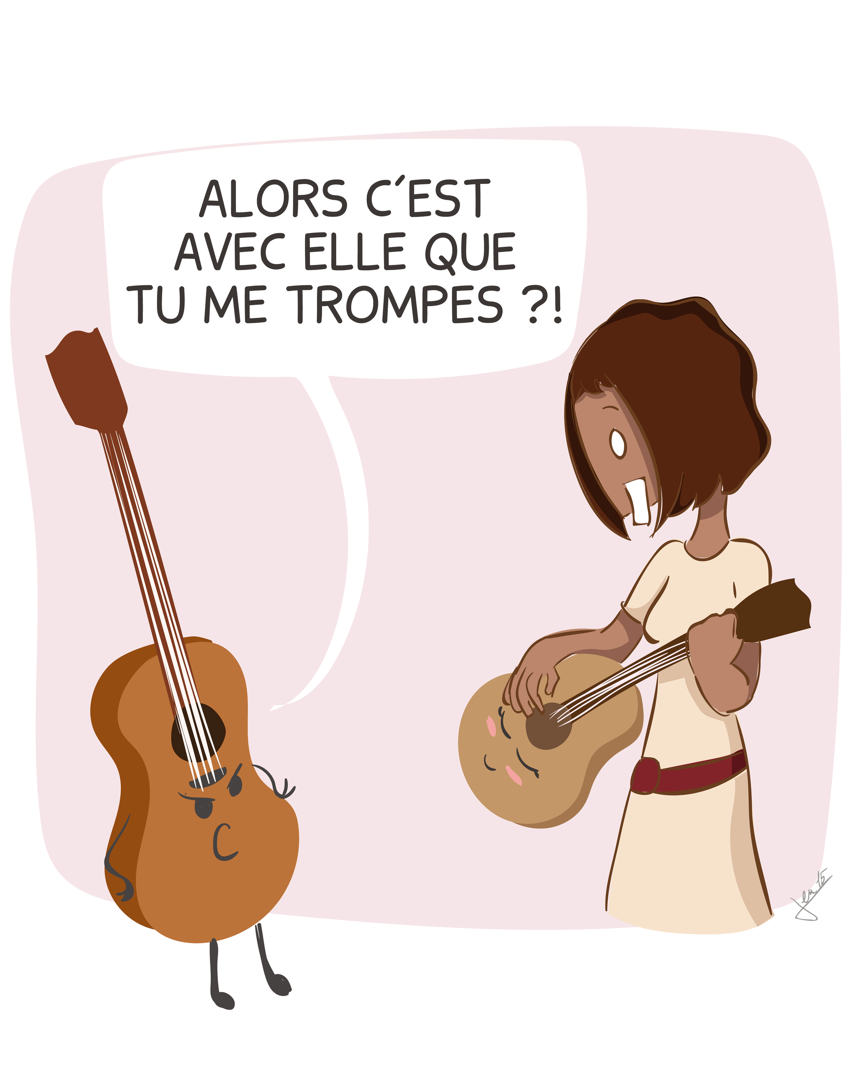Ex. 1 Une histoire de guitare