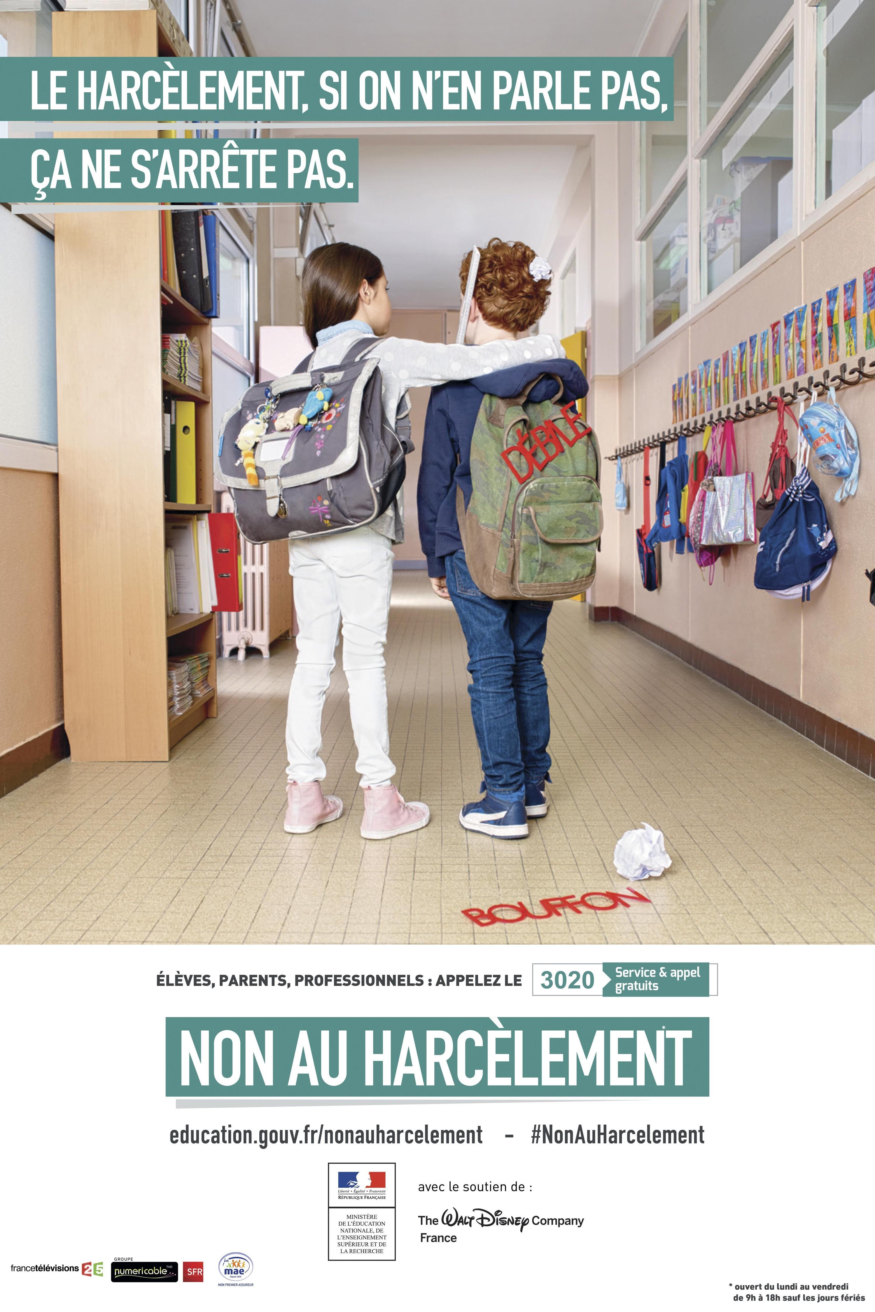 Non au harcèlement