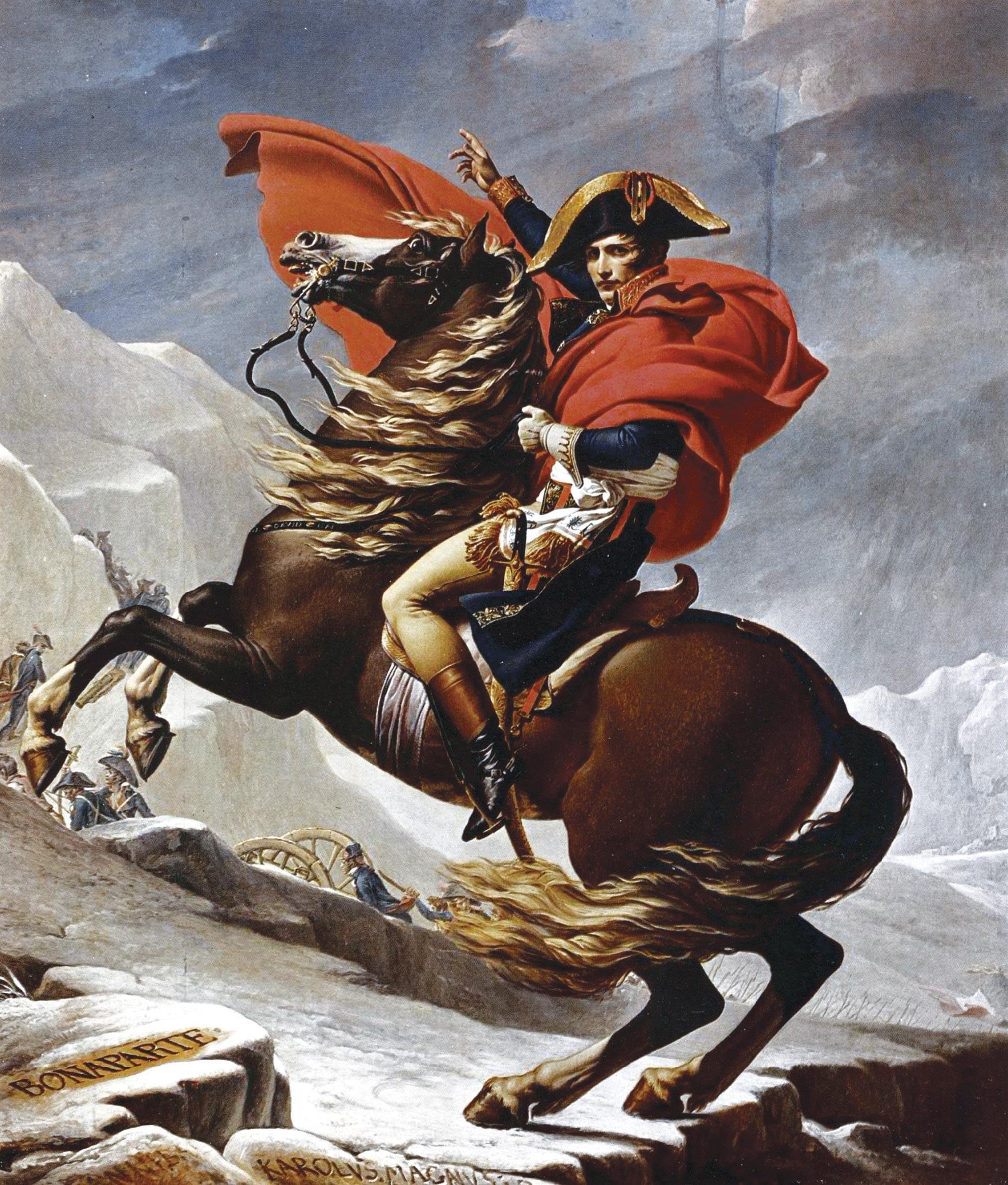 Bonaparte franchissant le Grand-Saint-Bernard