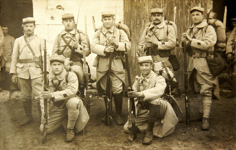 Ex. 5 Régiment de soldats