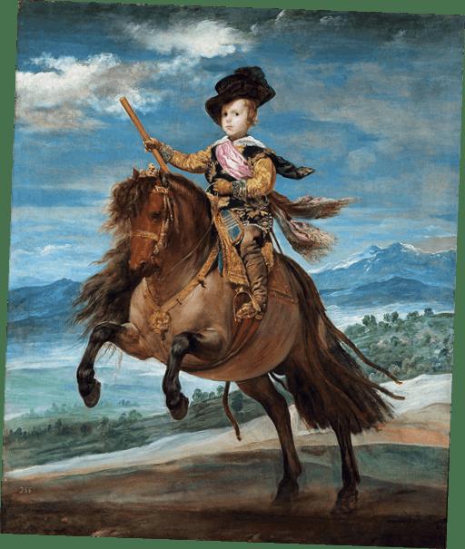 Cuadro Príncipe Baltasar Castro, Diego Velázquez