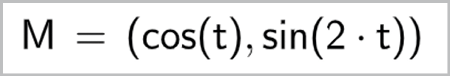 Maths spé - Chapitre 9 - Fonctions trigonométriques - TP1 Coordonnées dépendant du temps - Geogebra