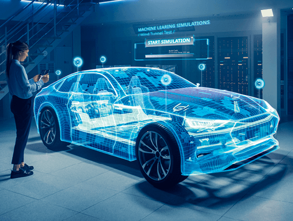 Simulation d'une voiture en réalité augmentée