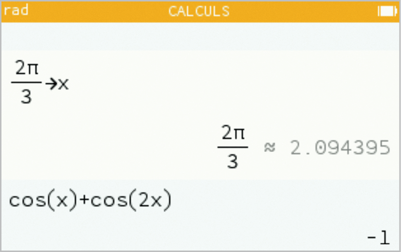 Maths spé - Chapitre 9 - Fonctions trigonométriques - TP2 Trigonométrie et arithmétique - calculatrice