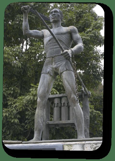 Estatua de Gaspar Yanga