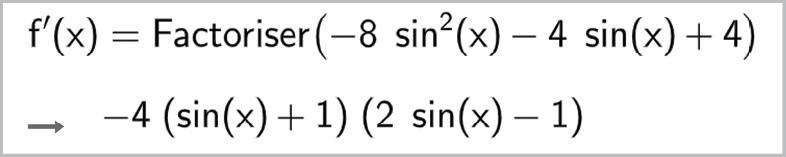 Maths spé - Chapitre 9 - Fonctions trigonométriques - exercice 103
