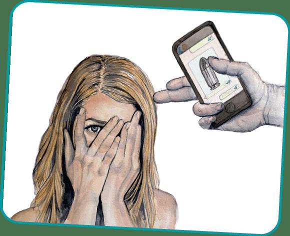 Virgulilla Ilustración, No ver, no oír, no decir, 2019