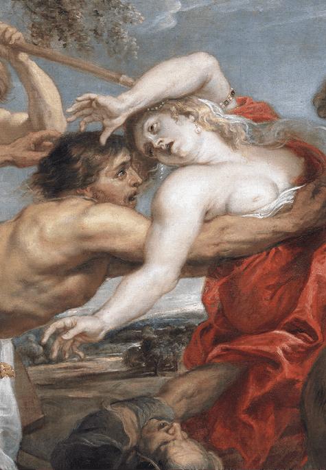 Pedro Pablo Rubens, El rapto de Hipodamía, 1636-1637, Museo del Prado.