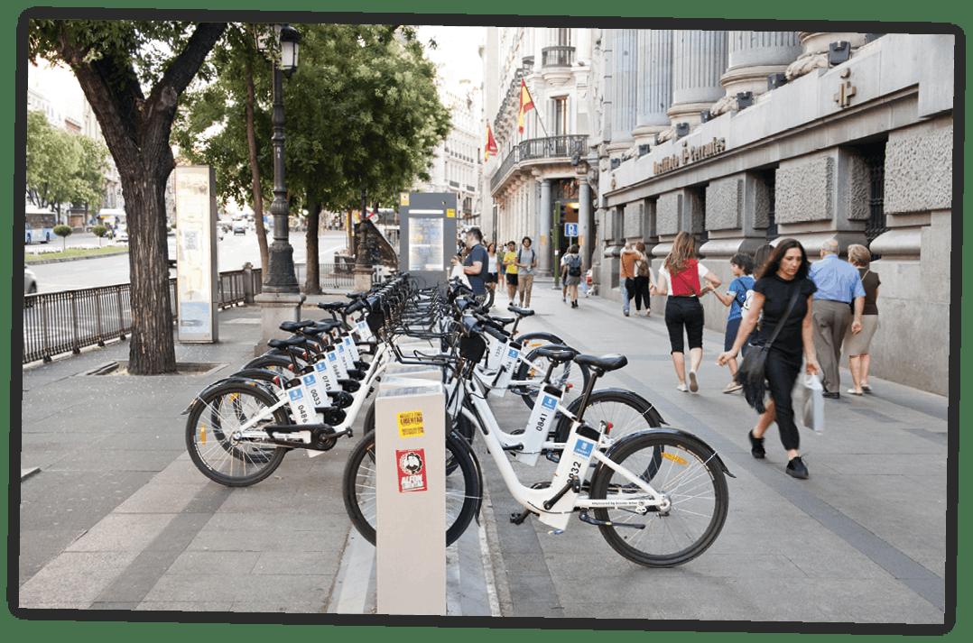 Bicicletas compartidas de Madrid
