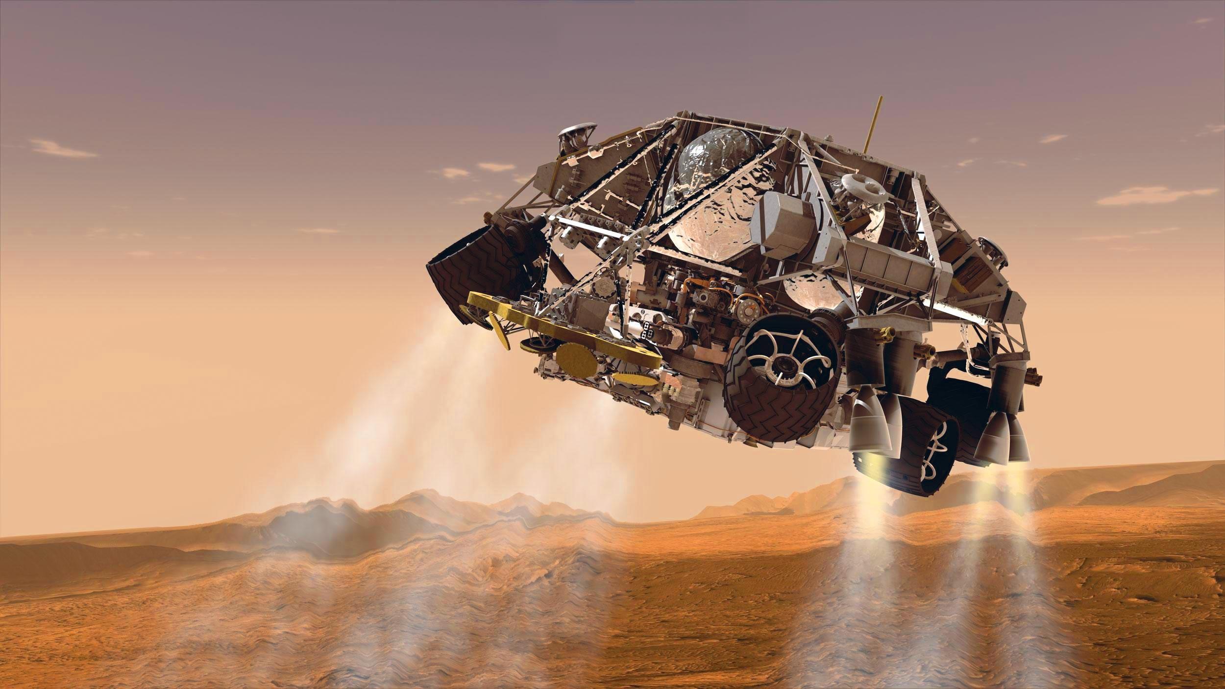 Ex. 12 Arrivée sur Mars