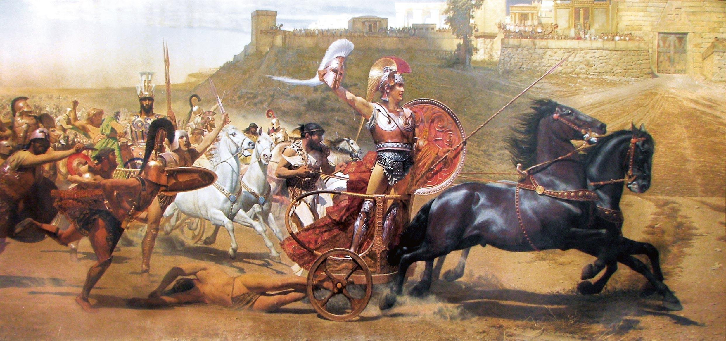 Ex. 11 Le triomphe d'Achille