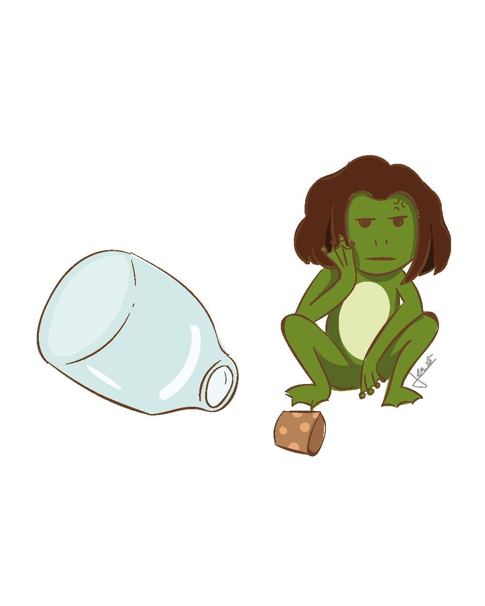 Ex. 1 La potion-grenouille
