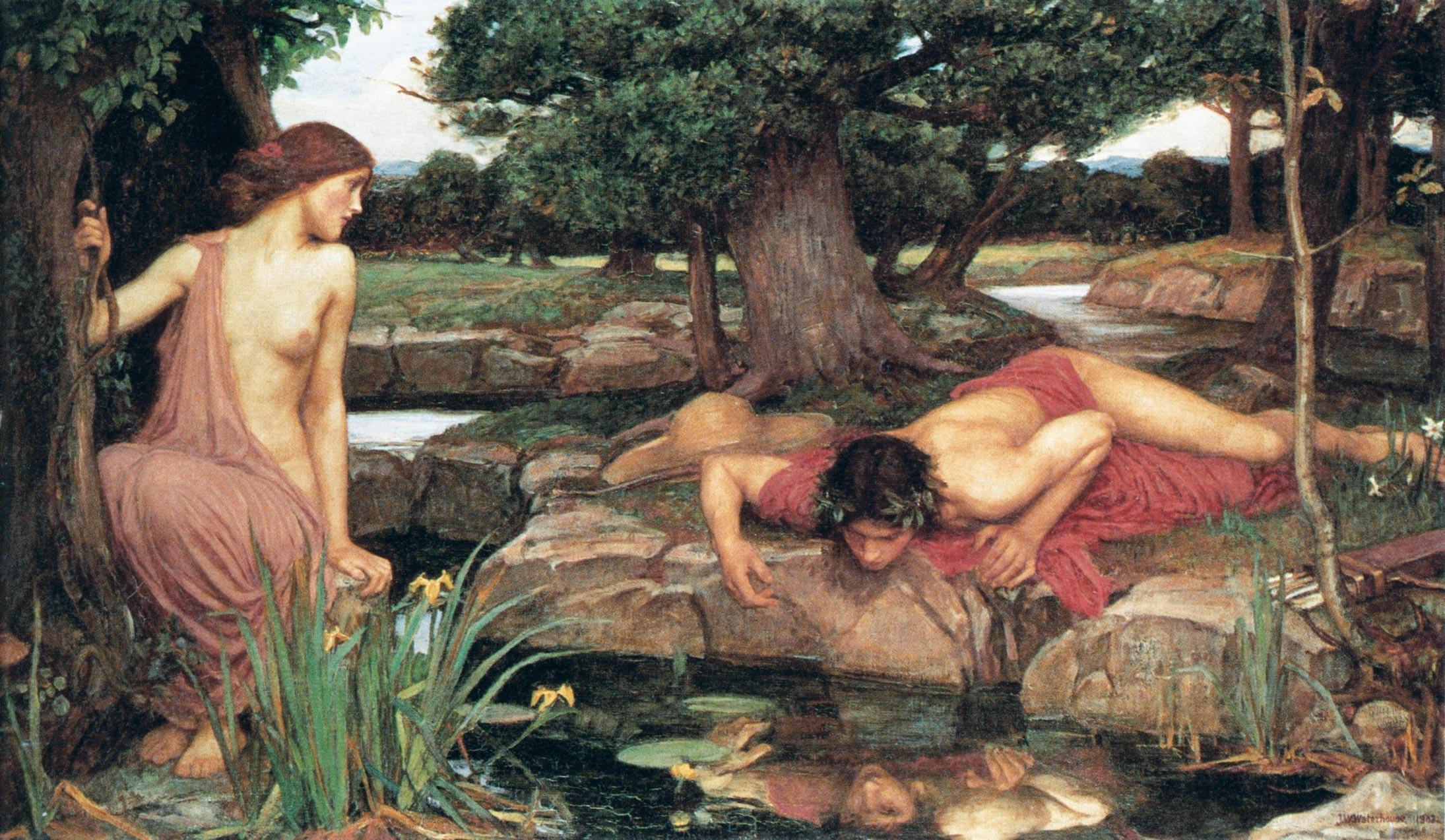 Ex. 7 Écho et Narcisse