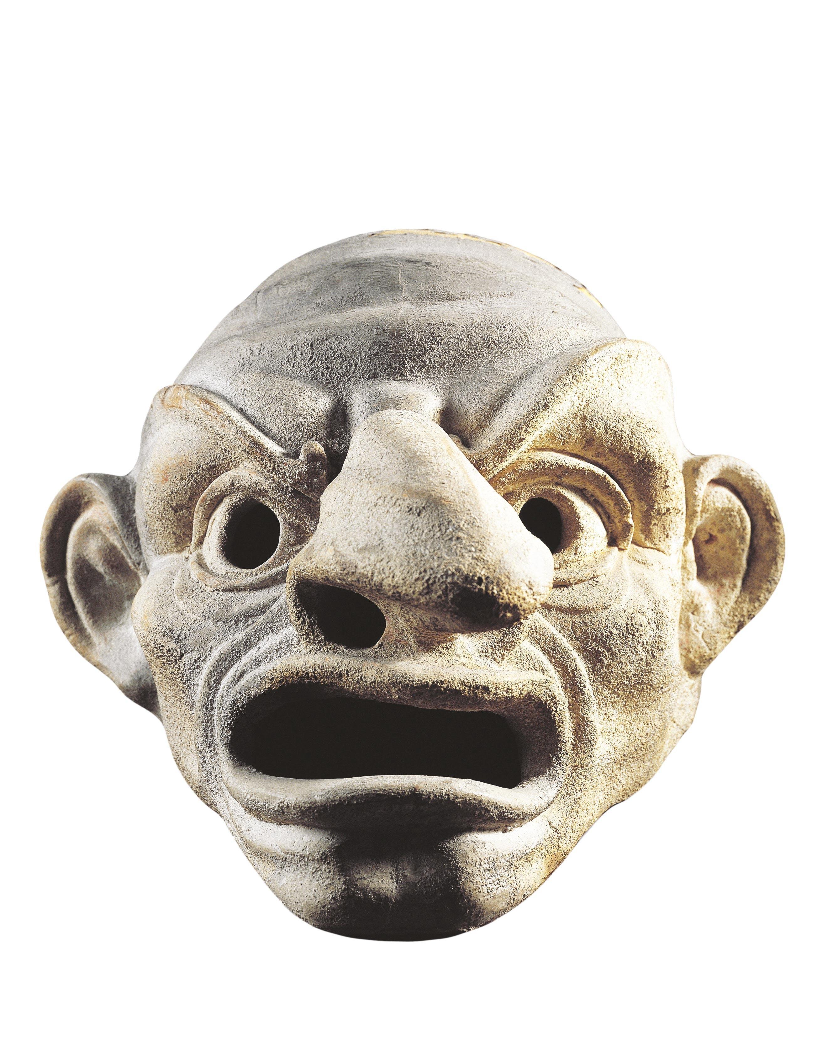 Masque de théâtre antique