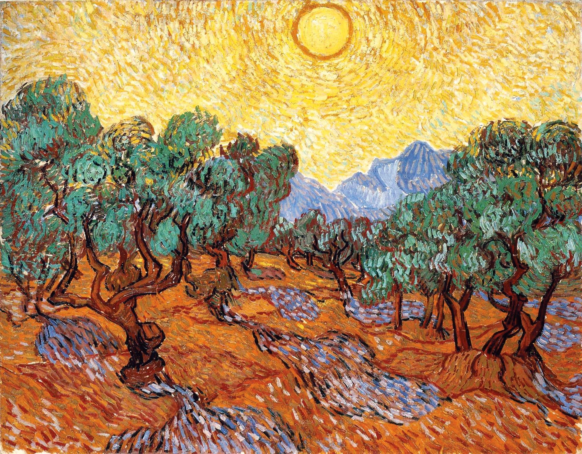 Ex. 7 Un champ d'oliviers