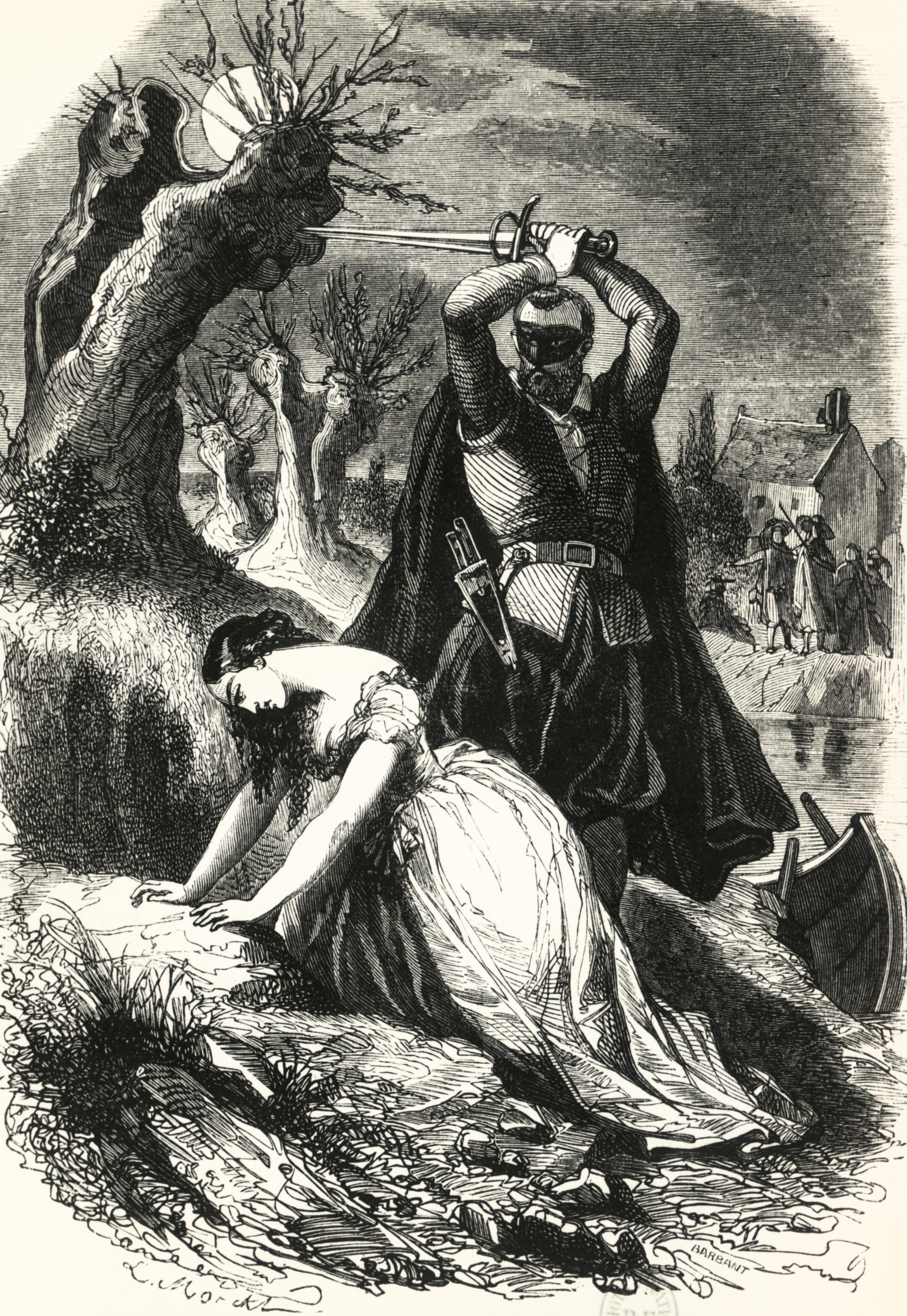 L'exécution de Milady