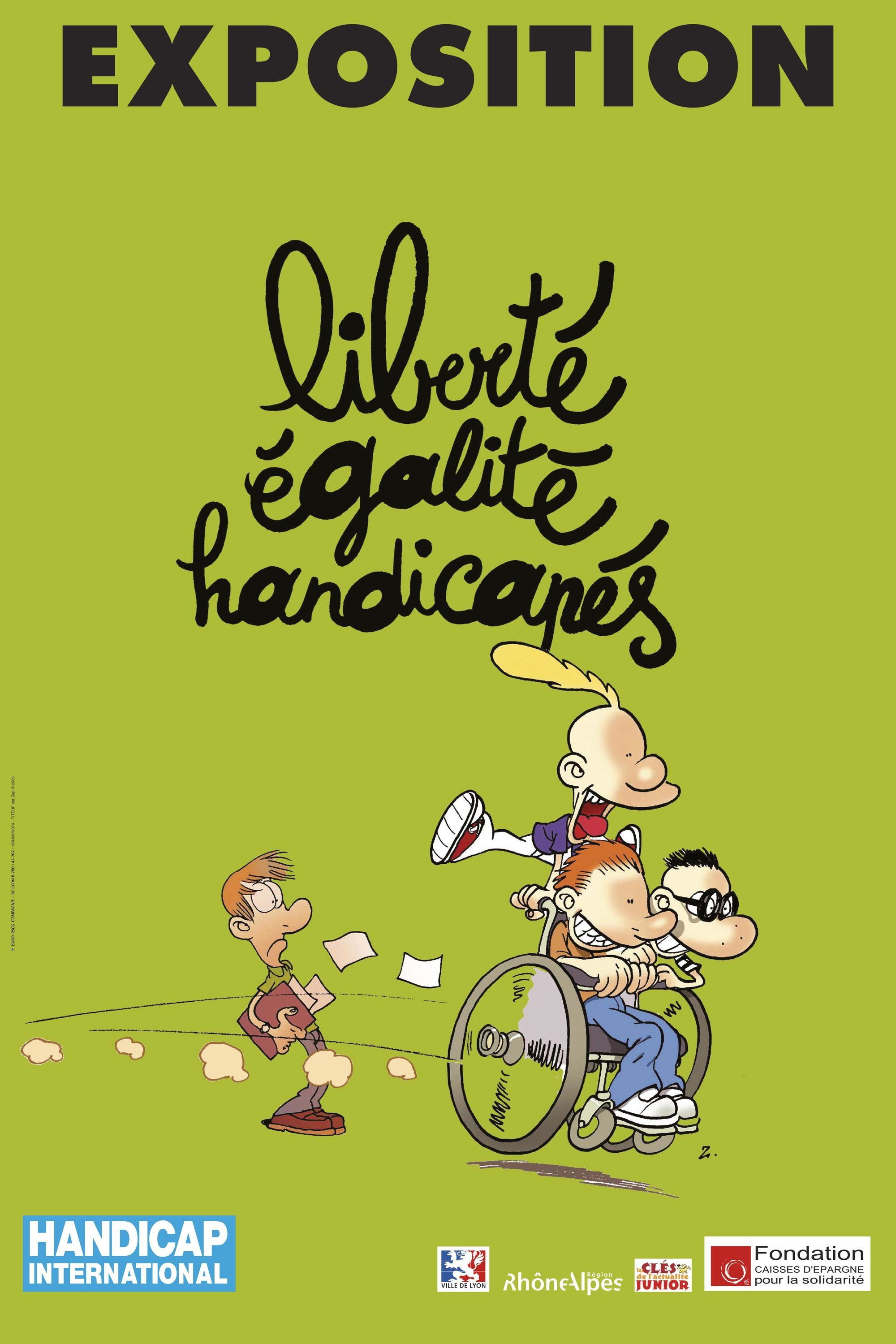 Affiche de Handicap International