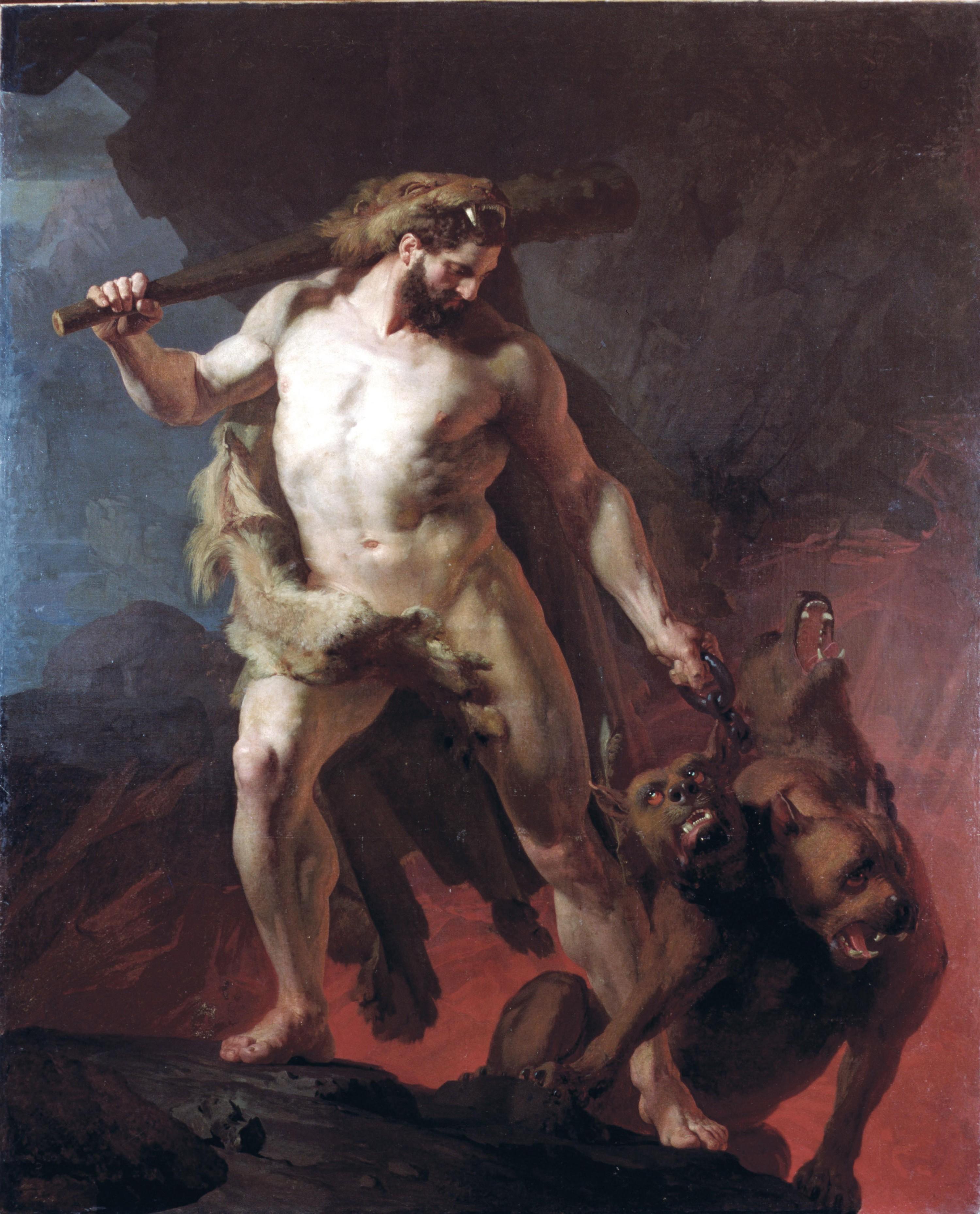 Hercule, maitre de Cerbère