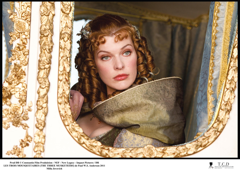 Milady dans son carrosse,