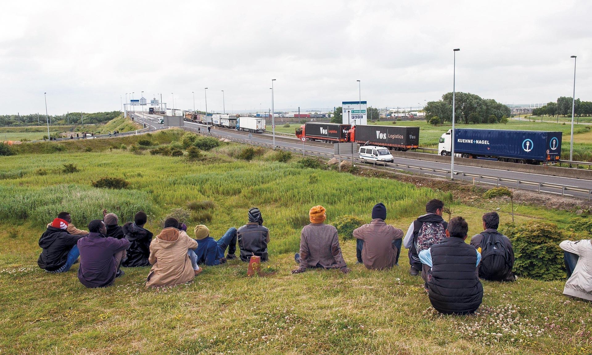 Migrants près de Calais