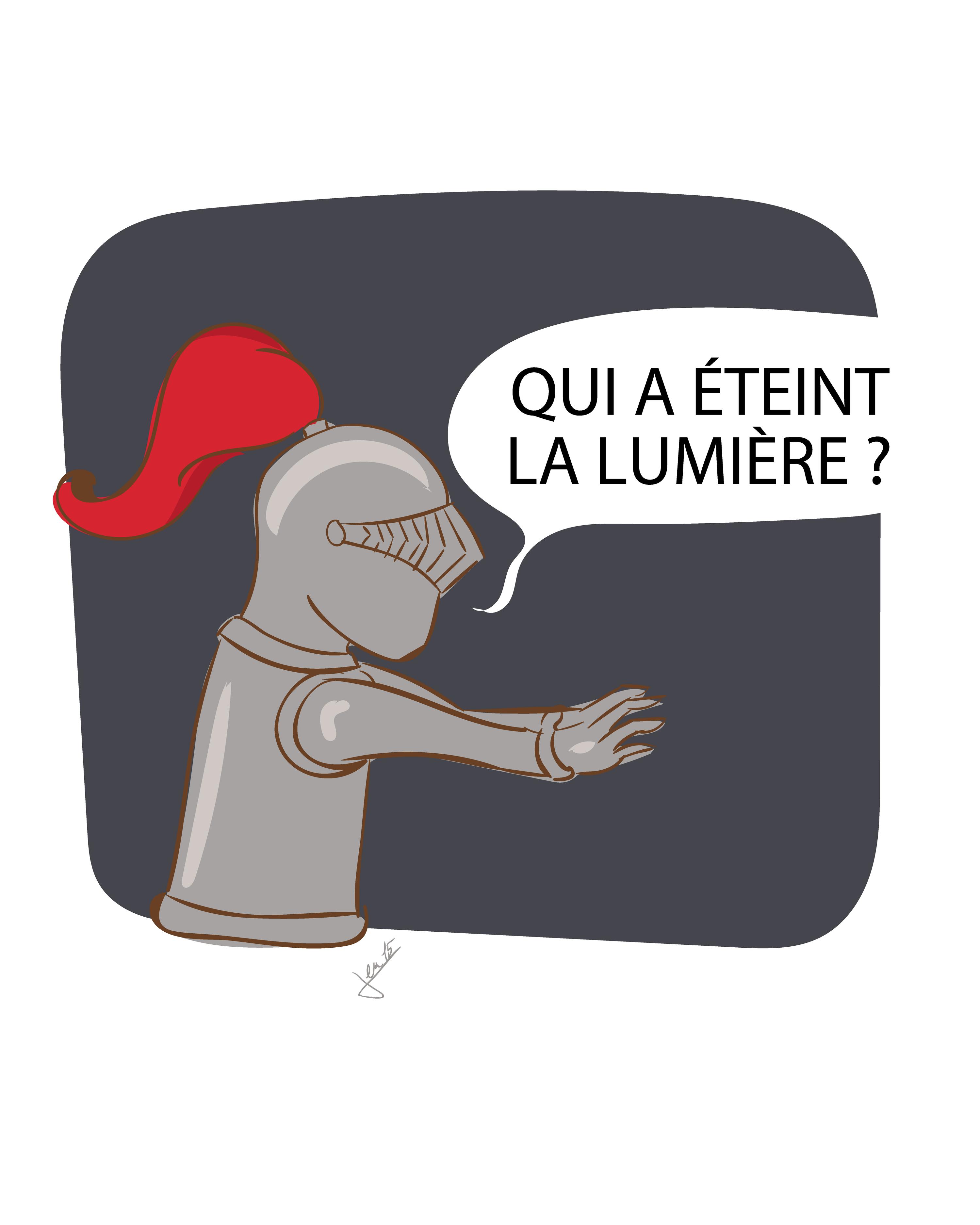 Ex. 1 Un chevalier en armure
