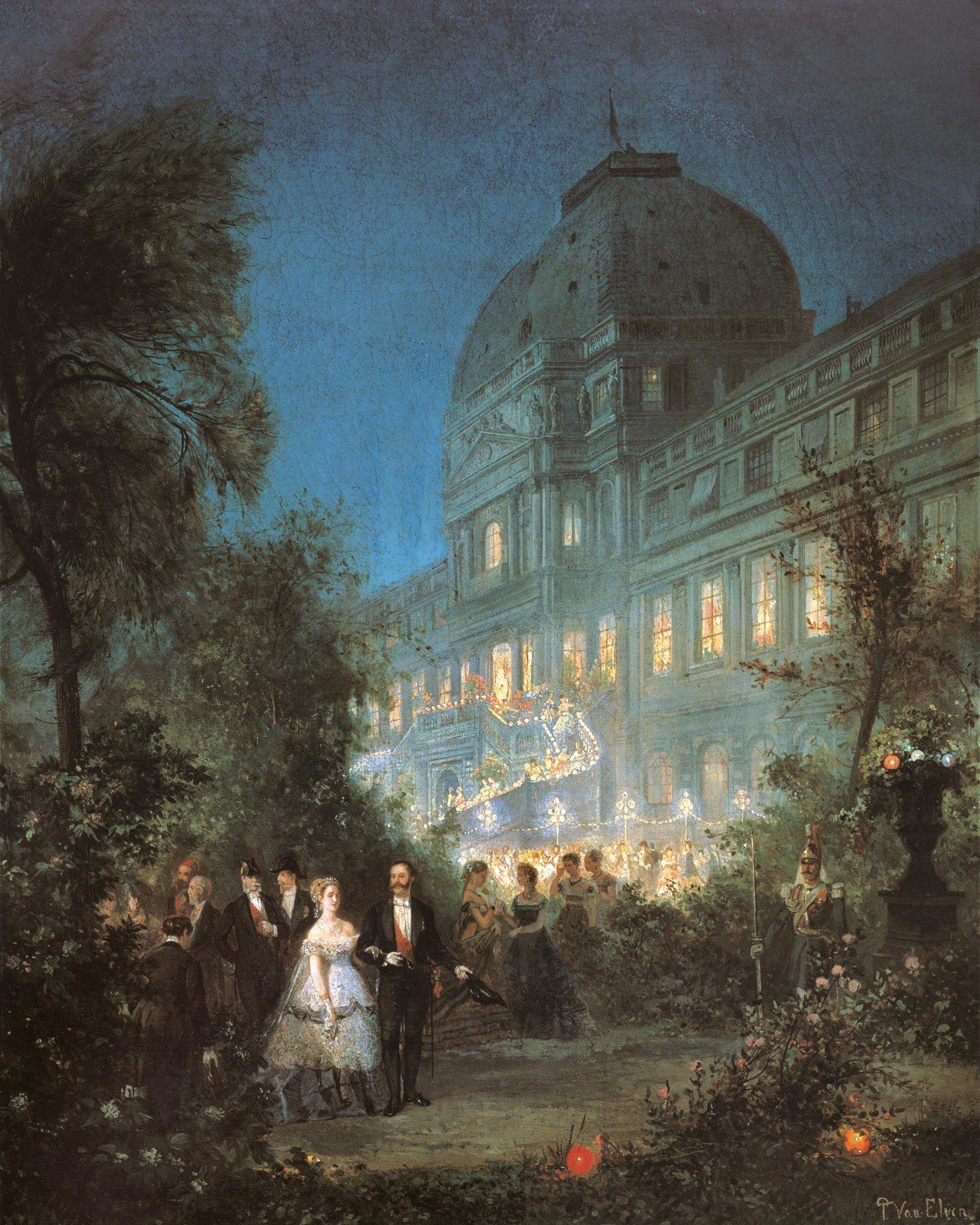 Réception aux Tuileries