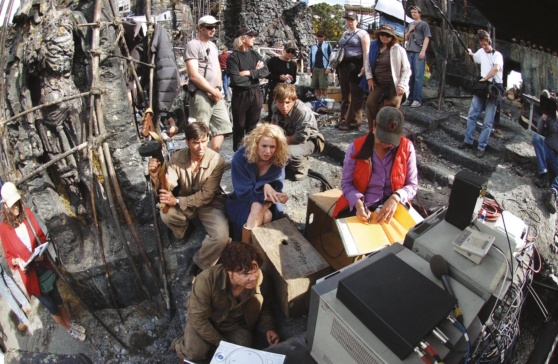 Photographie du tournage de King Kong,