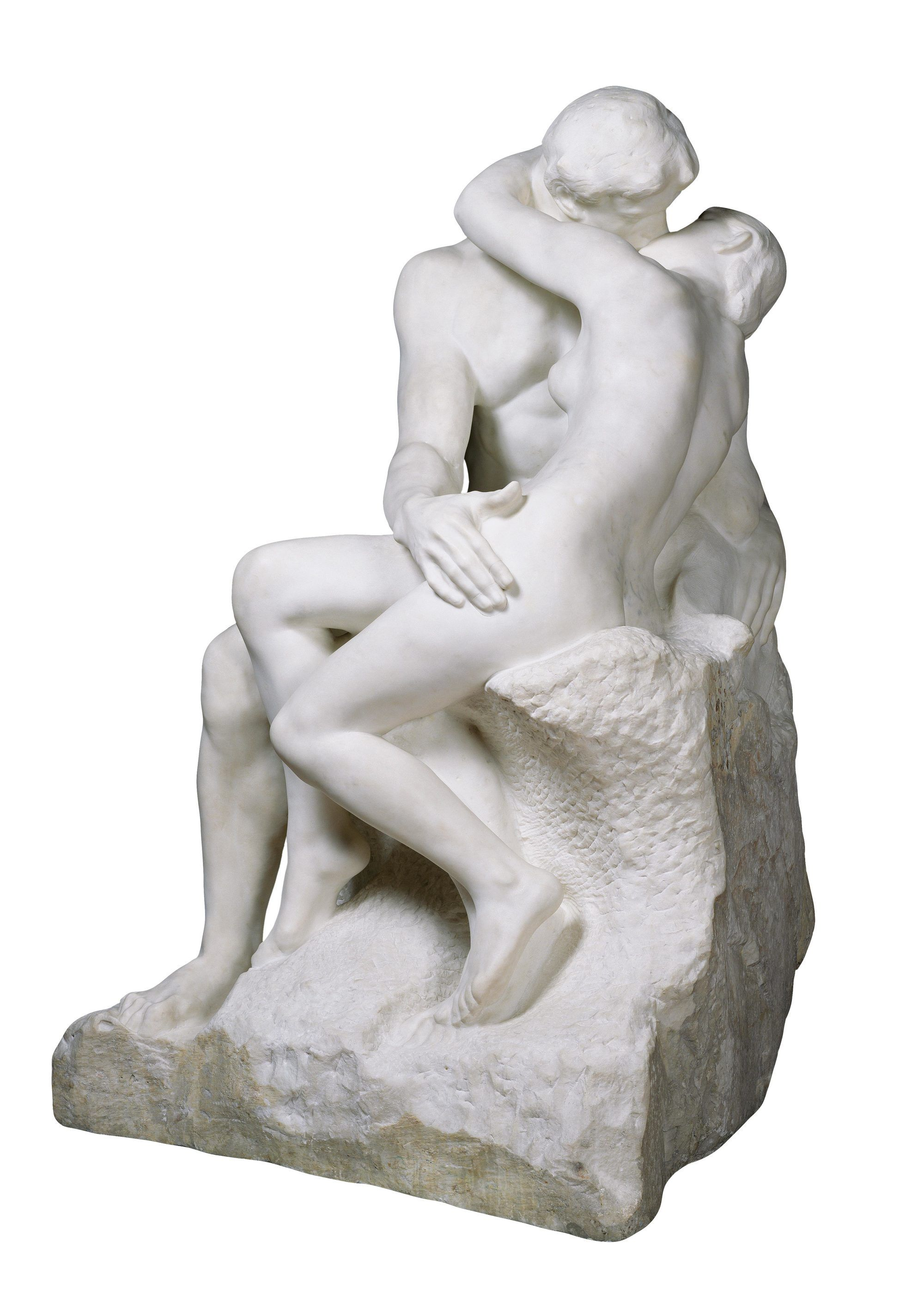 Un baiser passionné