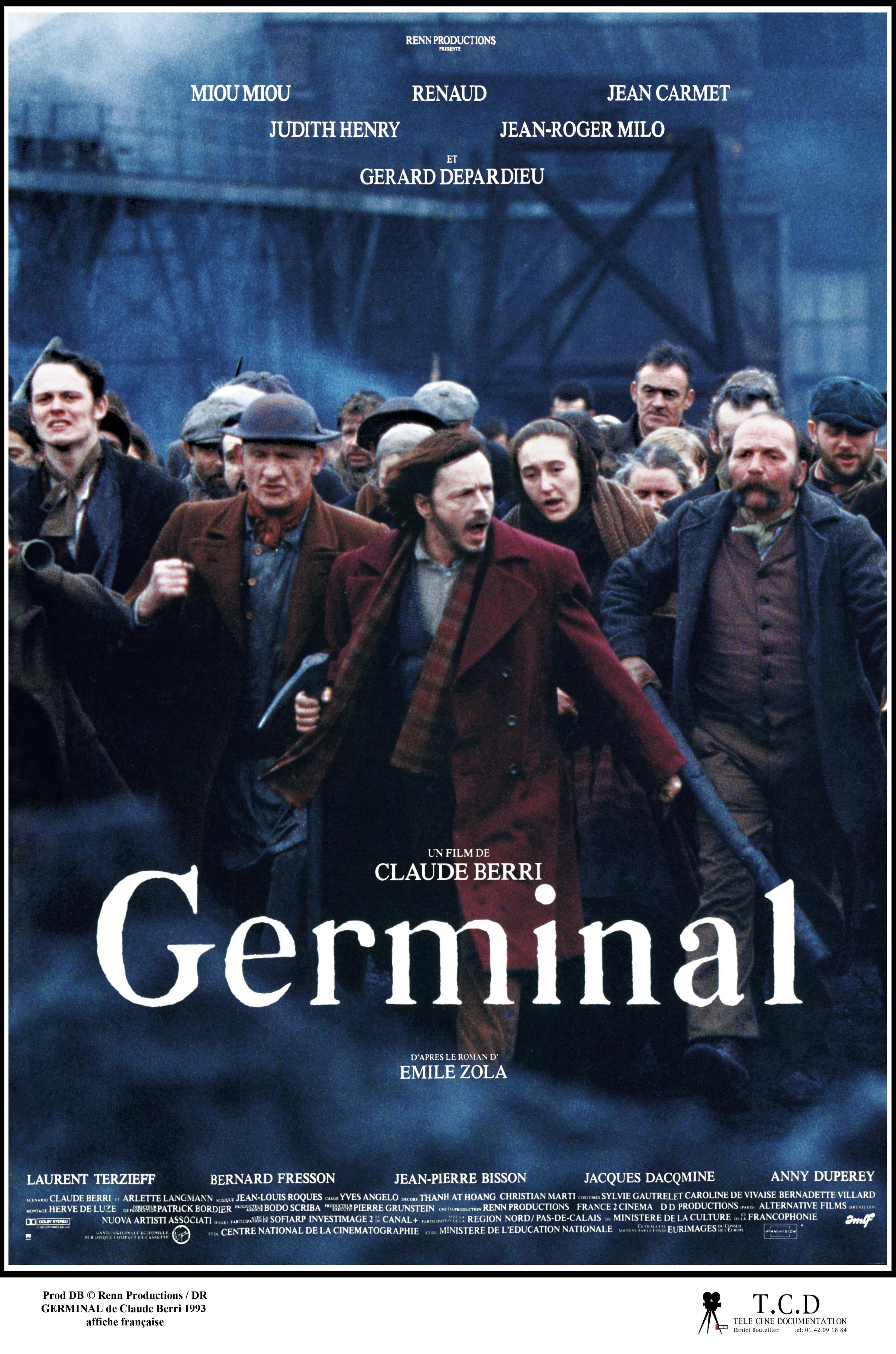 Affiche du film Germinal