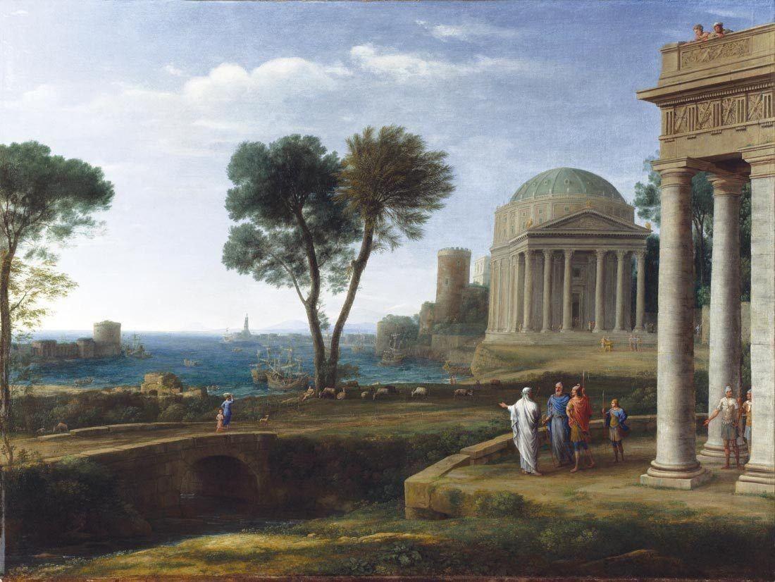 Une peinture classique