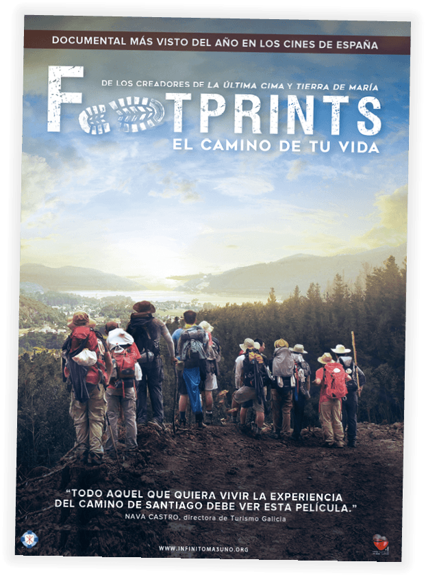 Cartel del documental Footprints, Juan Manuel Cotelo, 2016